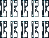 Let op type!! 10 PCS Front Housing Adhesive for Sony Xperia XA1 Plus