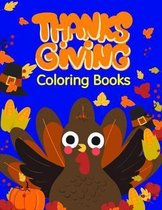 Thanksgiving Coloring Books