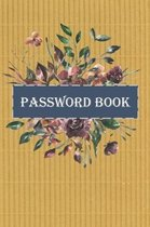 Password book: Password log book and Internet password organizer, Alphabetical password book, To Protect Usernames and Password Corru