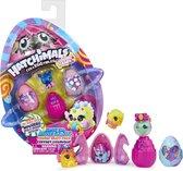 Hatchimals CollEGGtibles, Cosmic Candy-multipack met 4 Hatchimals