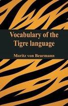 Vocabulary of the Tigré language