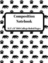 Composition Notebook: The Composition Notebook For Any Subject