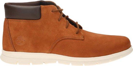 Timberland Graydon Leather Chukka Heren Sneakers - Medium Brown - Maat 42