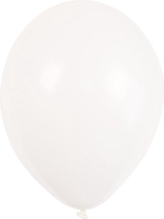 Amscan Ballonnen Crystal Transparant 27,5 Cm 50 Stuks