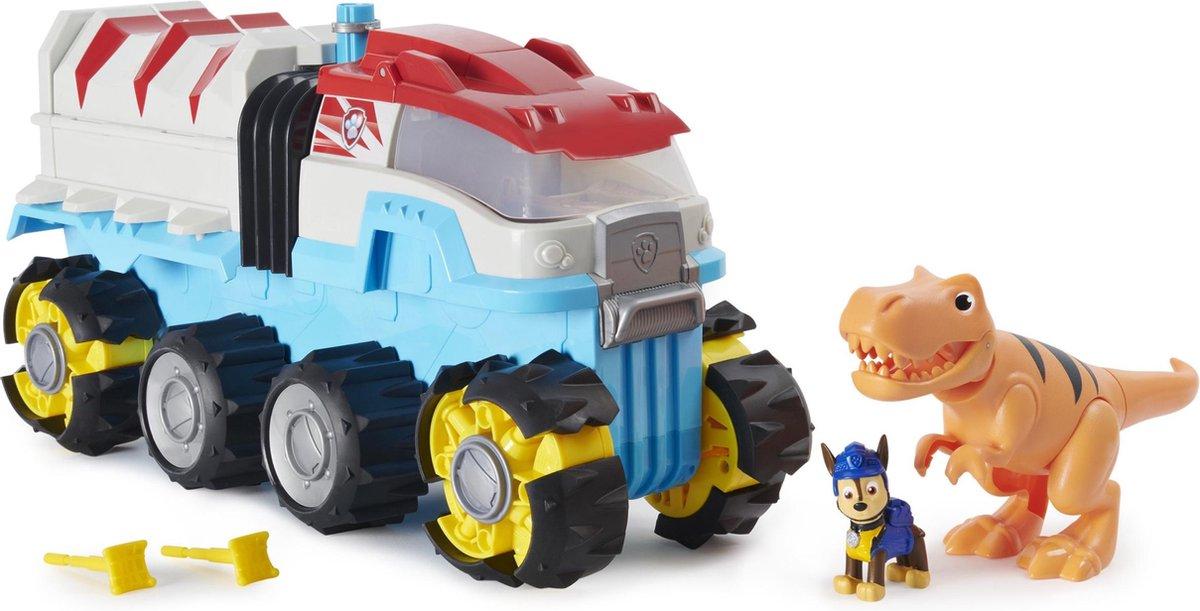 PAW Patrol Dino Rescue - Dino Team Voertuig - Gemotoriseerd teamvoertuig met exclusieve Chase- en T.