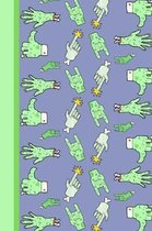 Zombie Survival Notebook: Novelty Gift For Any Fan Of The Undead Aim For The Head.