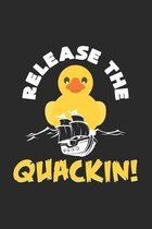 Release the quackin!: 6x9 Ducks - dotgrid - dot grid paper - notebook - notes