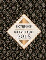 Notebook - Best Wife Since 2018