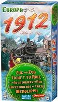 Afbeelding van Ticket to Ride Europa 1912 - Uitbreiding - Bordspel speelgoed