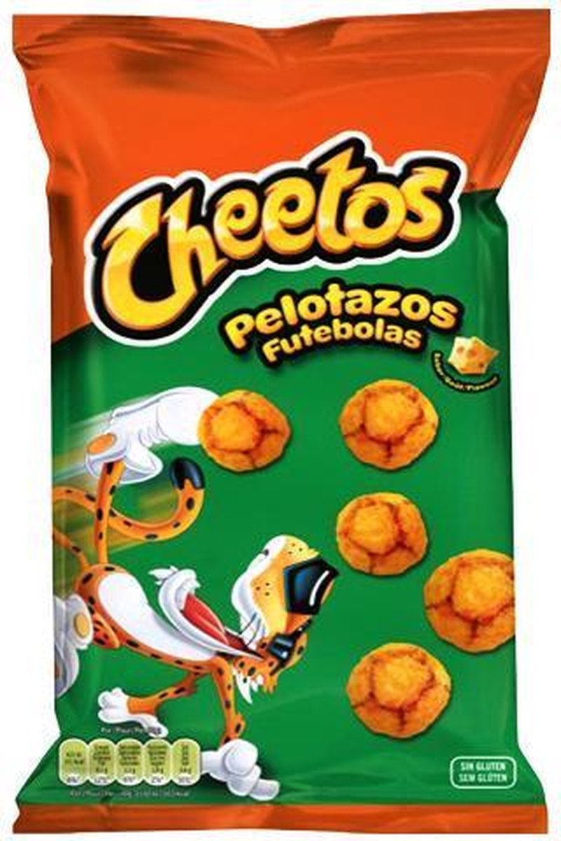 Cheetos Futebolas 10 x 130 gram