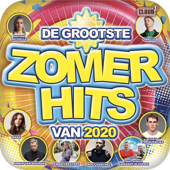 CD cover van De Grootste Zomerhits Van 2020 van various artists