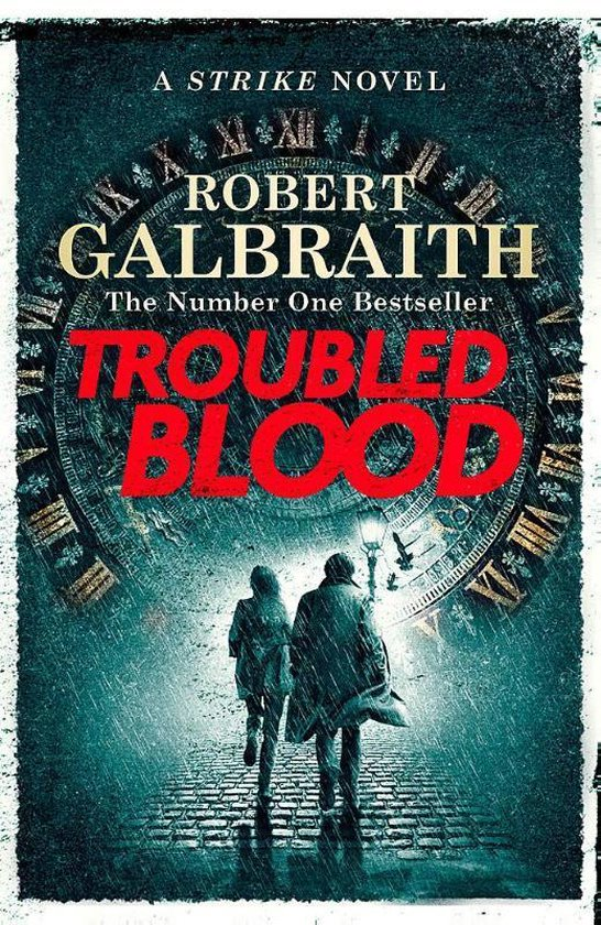 Boek cover Troubled Blood van Robert Galbraith (Paperback)