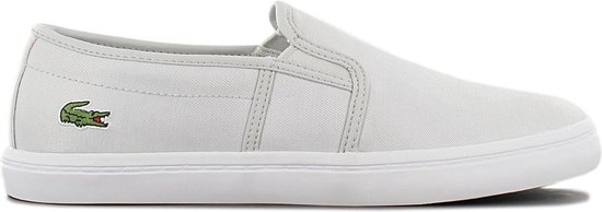 Lacoste Tatalya 319 – Dames Slip-On Sneakers Sport Casual Schoenen Slipper Grijs 7-38CFA00622Q5 – Maat EU 35.5 UK 3