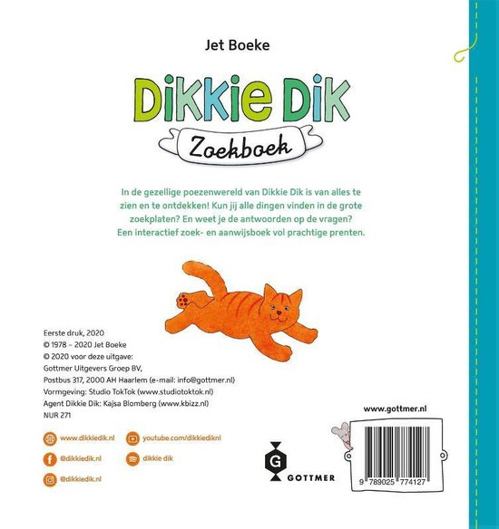 Dikkie Dik  -   Dikkie Dik zoekboek