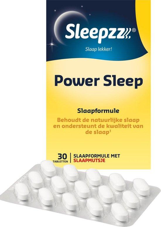 Sleepzz Power Sleep - Slaapformule - Natuurlijke slaap - 30 tabletten