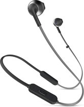 JBL T205BT Zwart - In-Ear Bluetooth Headphone