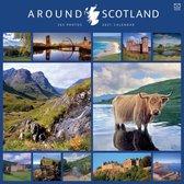 Around Scotland in 365 Days Square Wall