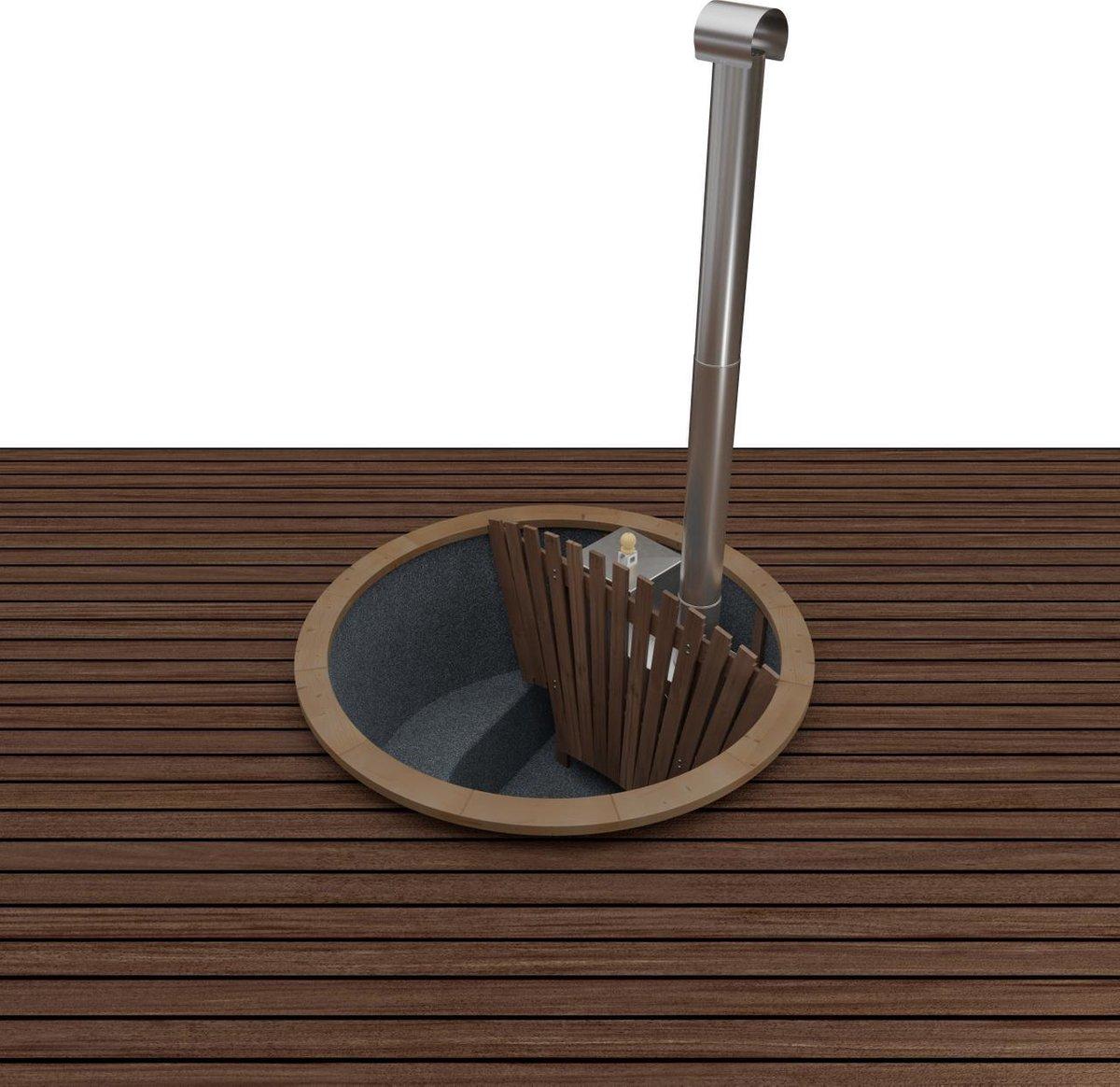 Hottub Premium terrace woody