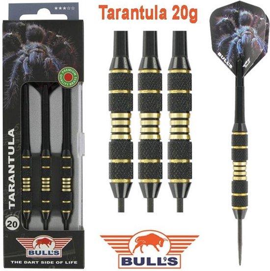 Bull's TARANTULA Brass - Dartpijl 20 gram