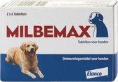 Milbemax Ontwormingsmiddel - Hond - 2x2 tabletten