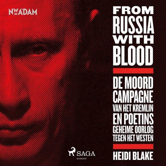 Boek cover From Russia With Blood van Heidi Blake (Onbekend)