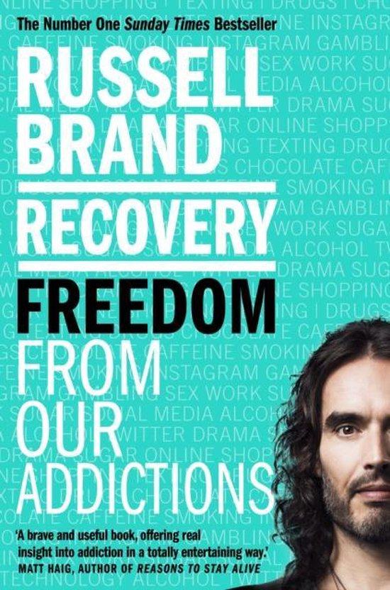 Boek cover Recovery van Russell Brand (Paperback)