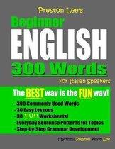 Omslag Preston Lee's Beginner English 300 Words For Italian Speakers