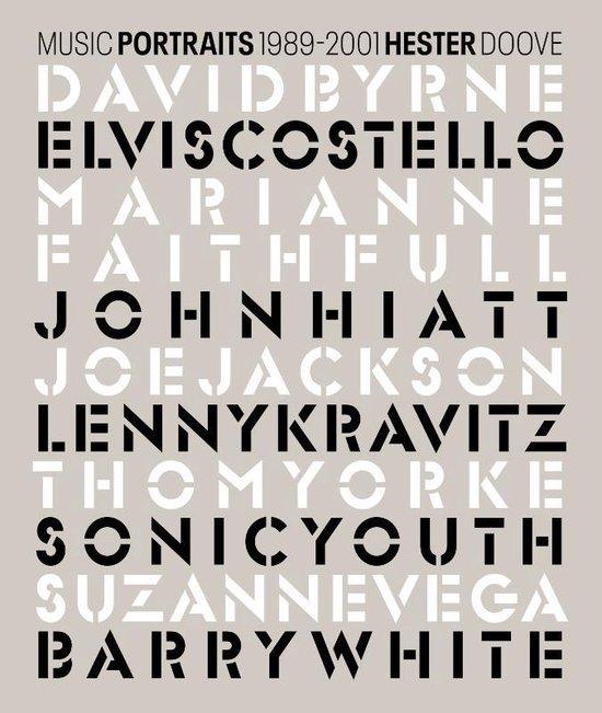 Boek cover Hester Doove - Music Portraits 1989-2001 van Hester Doove (Paperback)