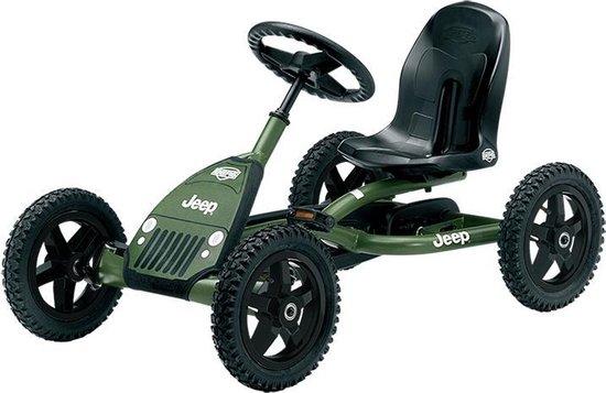 BERG Jeep® Junior Pedal go-kart - Skelter