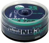 Platinum DVD+RW 4,7 GB 25 stuks