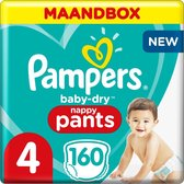 Pampers Baby-Dry Pants Luierbroekjes - Maat 4 (9-1