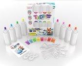 Tie Dye Kit - Complete Pakket - 8 Kleuren 120ml - 30 projecten – Textielverf set  - Hoge kwaliteit - Hobbycave