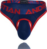 Andrew Christian Almost Naked Premium Air Thong Navy maat XL