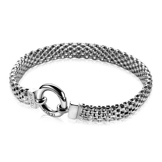 Zinzi zilveren schakelarmband 19,5cm ZIA880