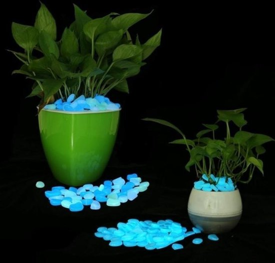 Tuin | Glow In The Dark | Lichtgevende Pebbles | Voor Loopbruggen Planten Aquarium Decor | Glow Stenen | Tuin Decoratie