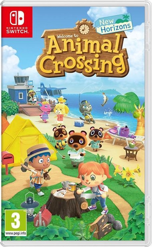 Cover van de game Animal Crossing: New Horizons - Switch
