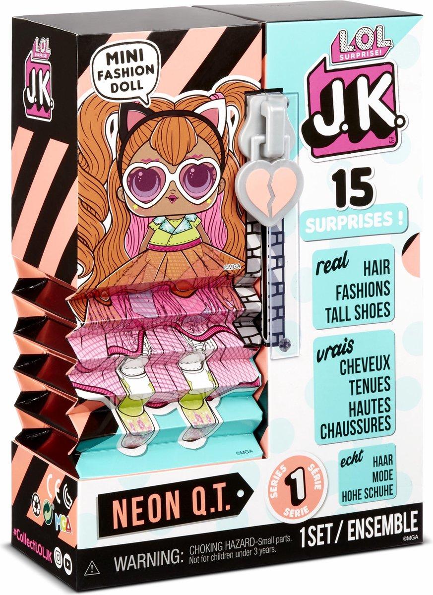 L.O.L. Surprise J.K. Doll Neon Q.T. - Minipop