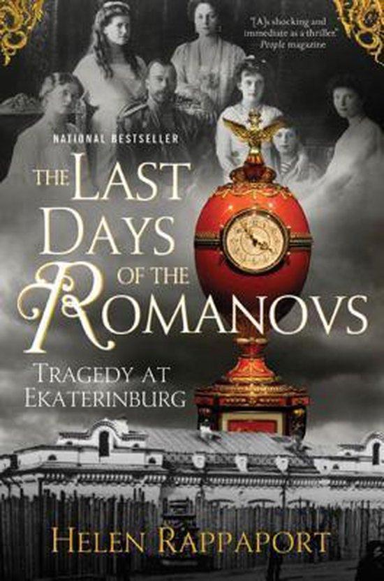 Boek cover The Last Days of the Romanovs van Helen Rappaport (Paperback)