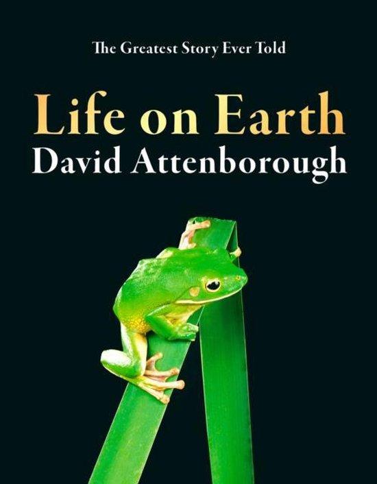 Boek cover Life on Earth van David Attenborough (Hardcover)