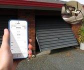 Slimme Garagedeur Opener | Smart Garagedeuropener Smartphone | Elektrisch Smartphone Afstand Telefoon | Amazon Alexa | Google Home