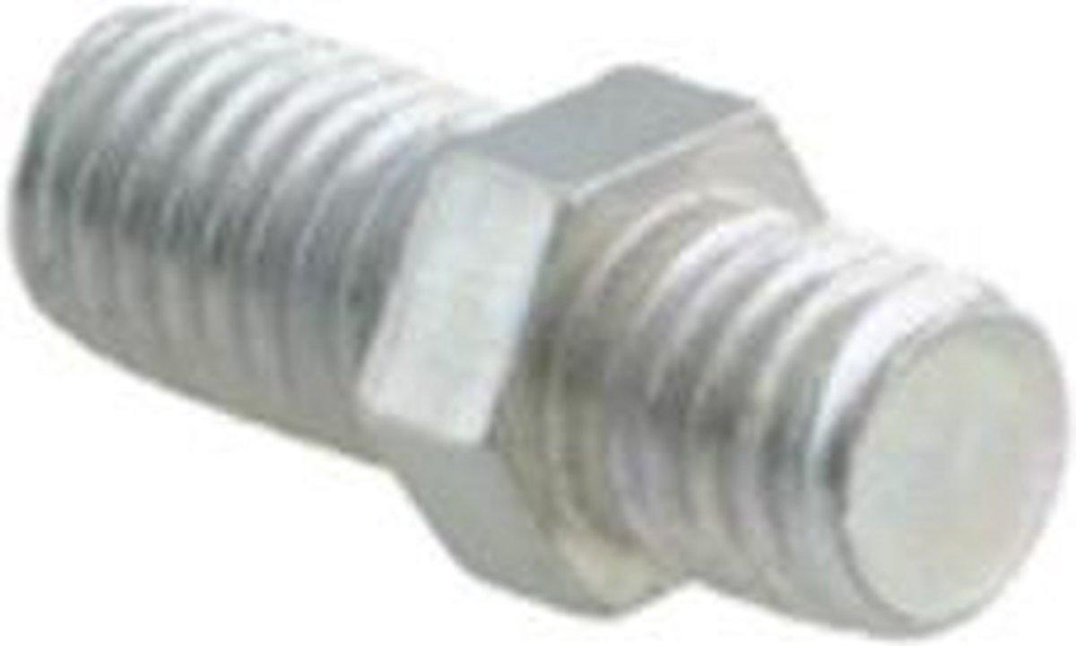 Walraven BIS Draadnippel type 3100 elektr verzinkt M8