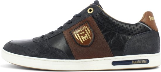 Pantofola d'Oro Milito Uomo Lage Donker Blauwe Heren Sneaker 44