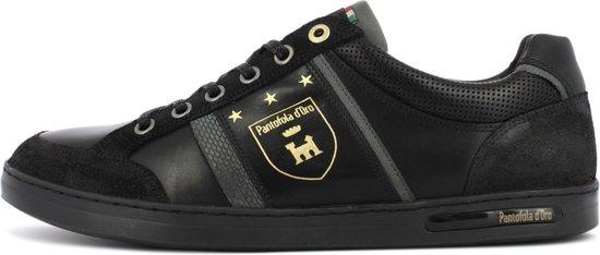 Pantofola d'Oro Mondovi Uomo Lage Zwarte Heren Sneaker 42