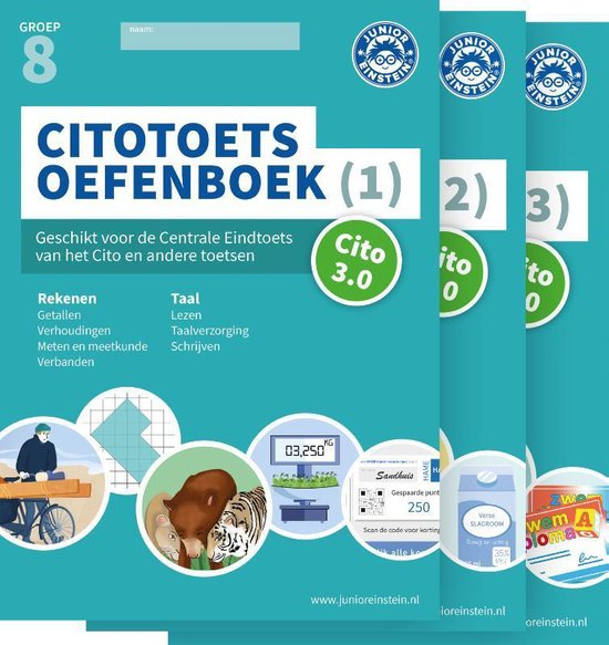Citotoets Oefenboeken Set - Deel 1, 2 en 3