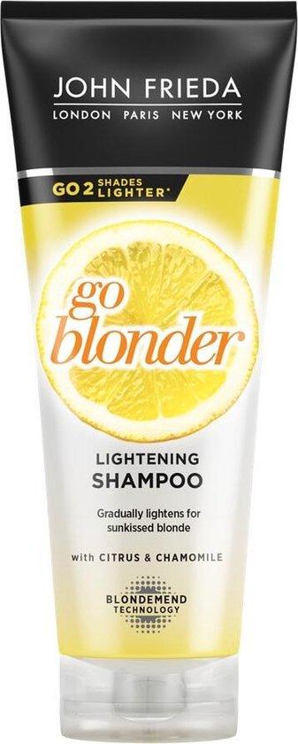 John FriedaSheer Blonde Go Blonder Lightening Shampoo - 250 ml