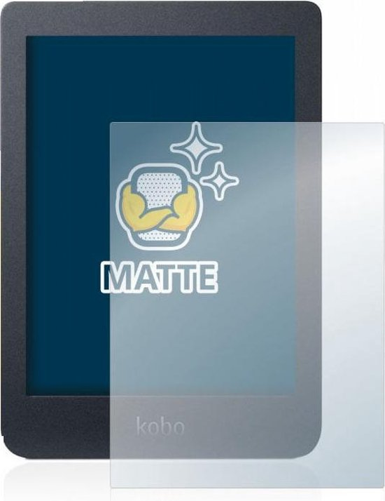 "Goodline® - Matte Screenprotector Kobo Nia (6"") - type: Matte Pro"
