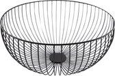 Point-Virgule - Wire - Fruitschaal - Fruitmand - Metaal - Zwart - ø 35cm H 15cm