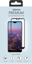 Selencia Gehard Glas Premium Screenprotector voor Huawei P20 Pro - Zwart