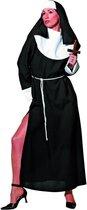 Sexy non nonnen jurk met hoge split Maat 38