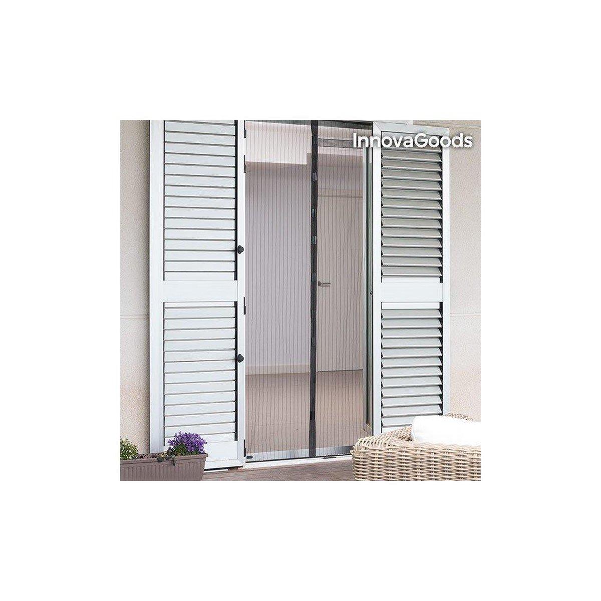 Guard 'n Care Deurhor - 100 x 220 cm - Magnetisch - Zwart